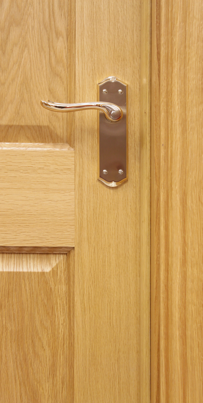 4 Panel White Oak Door 40mm Internal Doors Oak Doors
