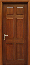 6 Panel Mahogany Door (40mm)
