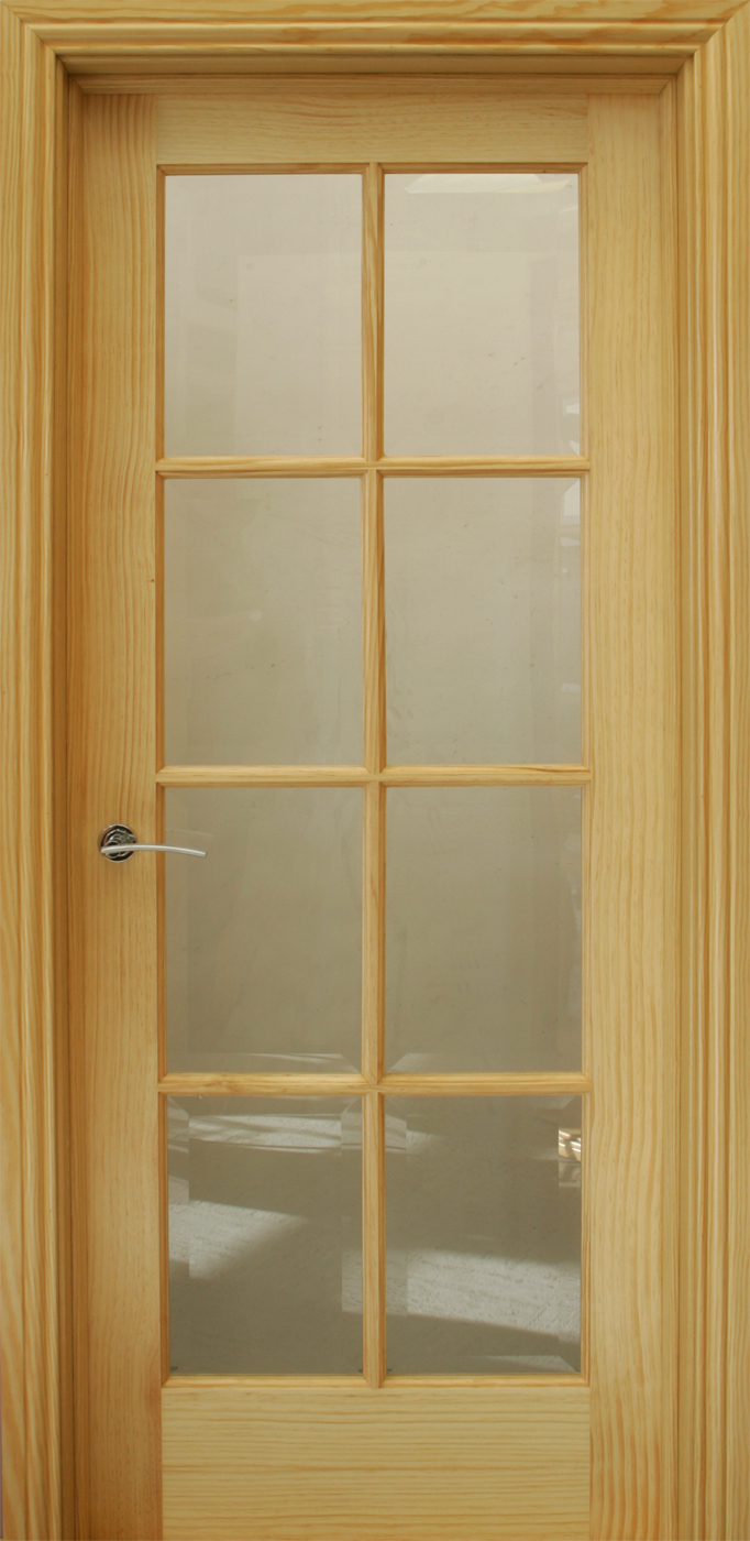 8 Lite Pre Glazed 40mm Internal Doors Pine Doors