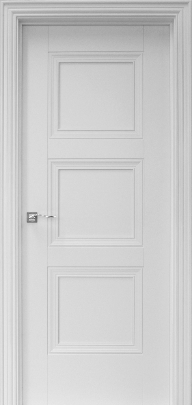 Amsterdam White Primed Door 40mm Internal Doors