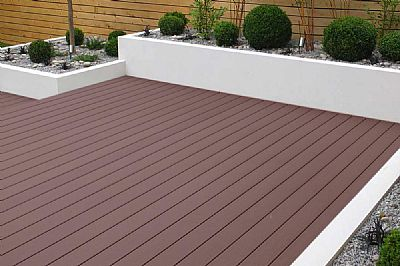 Coffee Composite Decking 3.6m Length