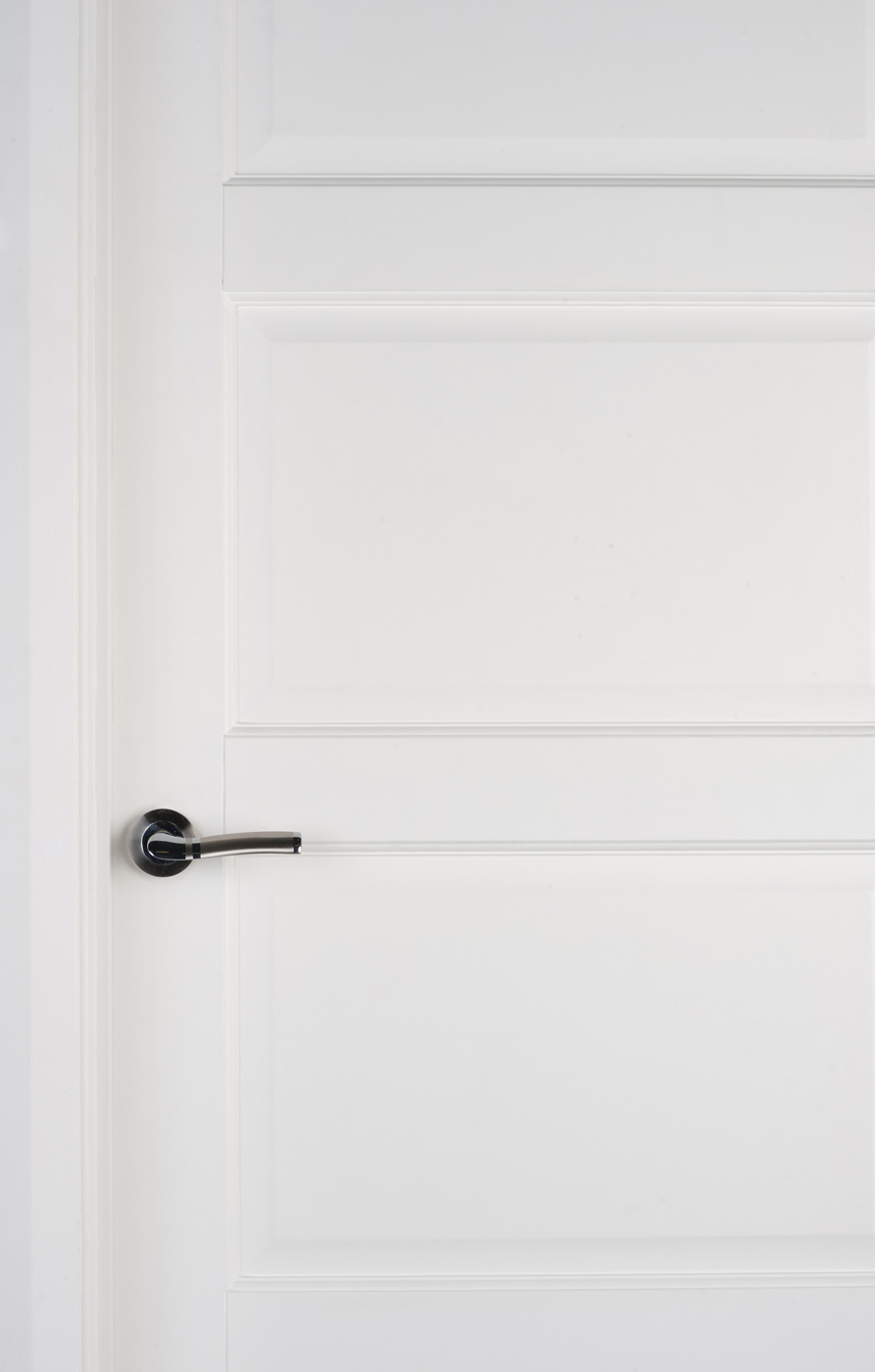 Contemporary 4 Panel White Primed Door 40mm Internal