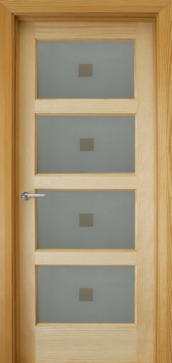 Contemporary 4 Lite 40mm Internal Doors Pine Doors