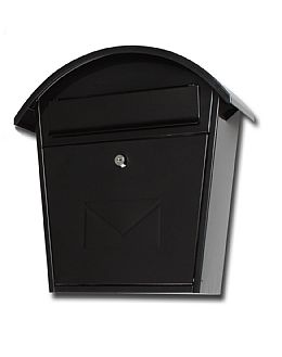 Cottage black mail box