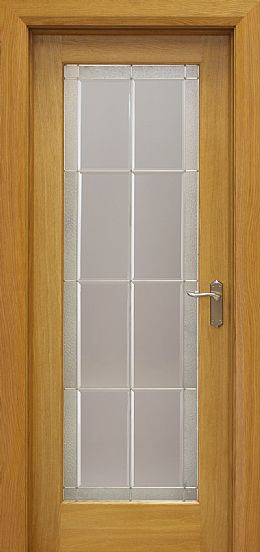 Gresham Pre-Glazed White Oak Door (40mm)