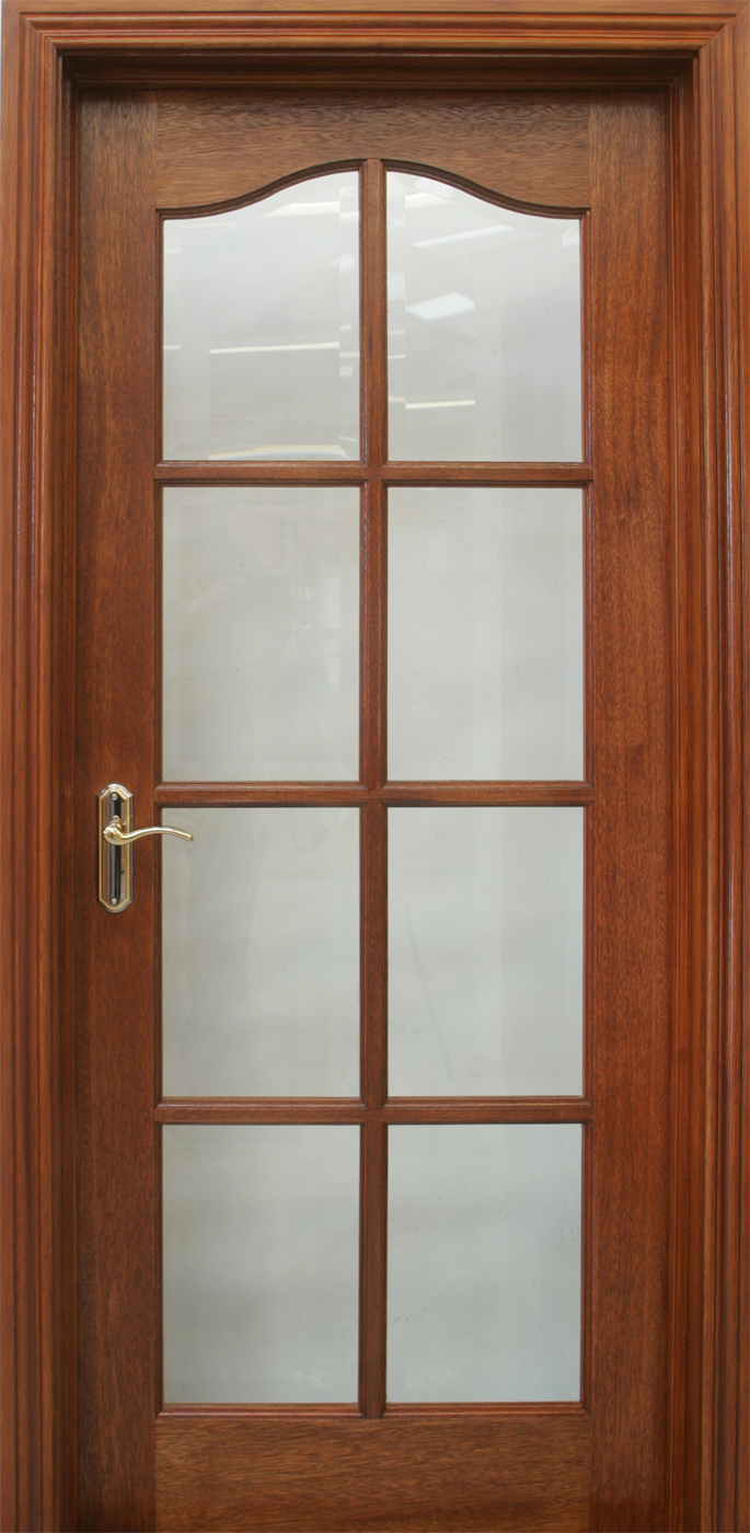 Kent Pre Glazed 40mm Internal Doors Mahogany Doors