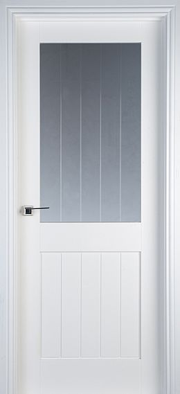 Mexicano 1 Lite Pre-Glazed White Primed Door (40mm)