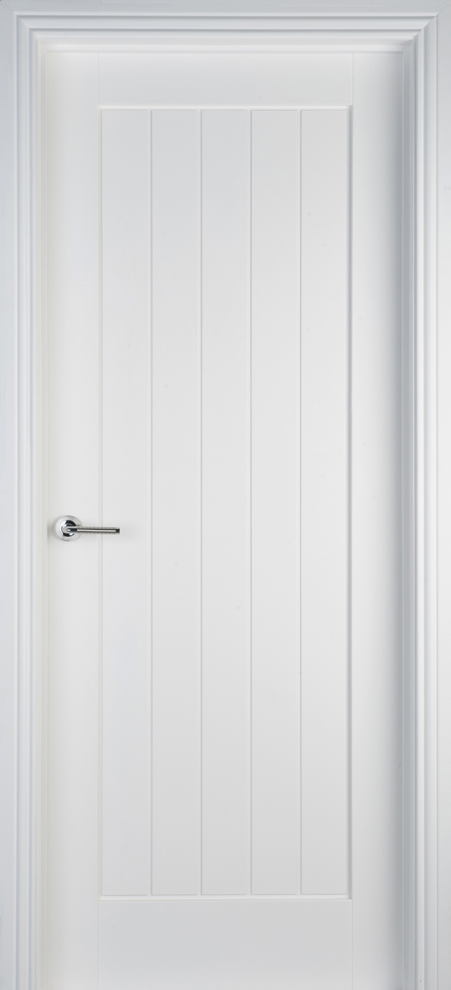 Mexicano White Primed Door (40mm)