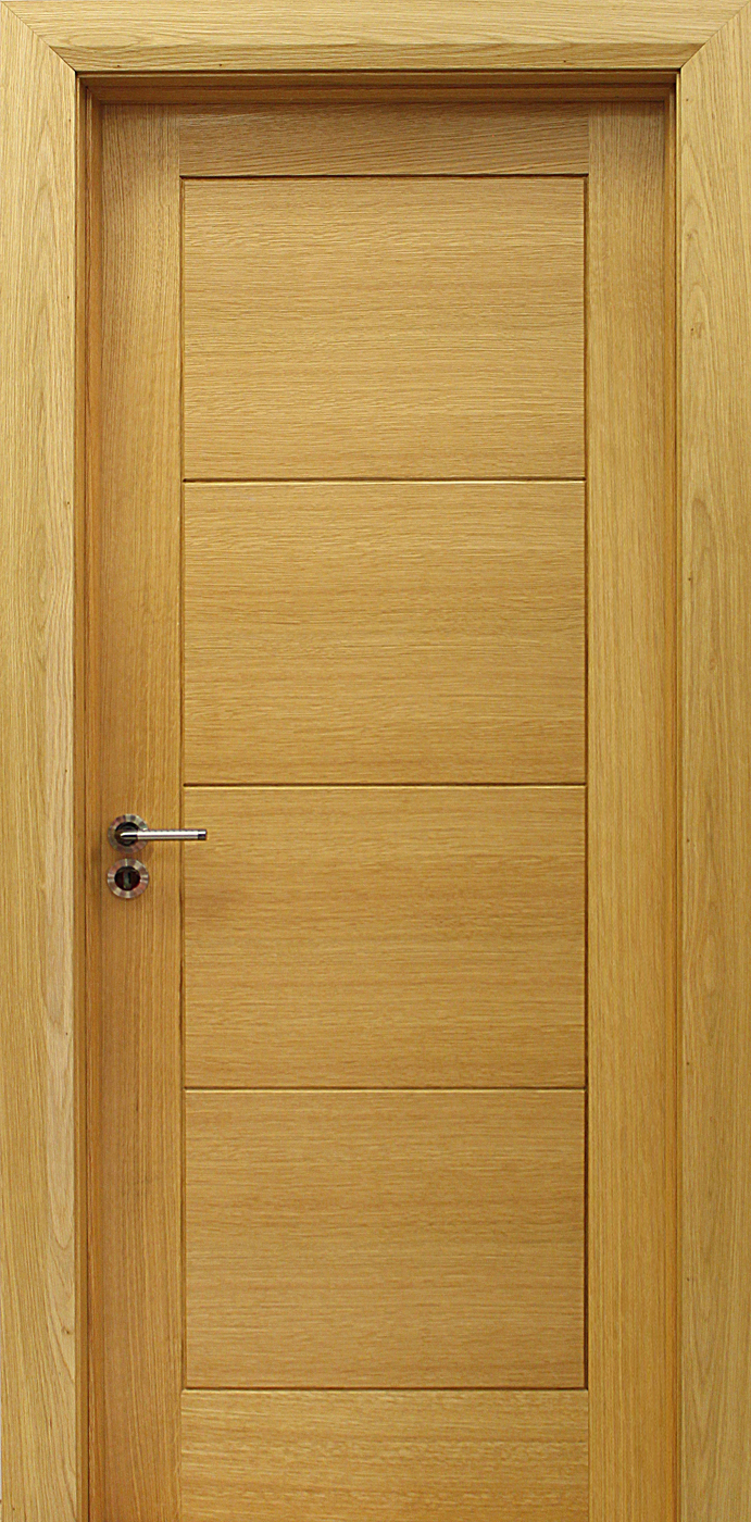 Milan white oak door 40mm internal doors oak doors for Internal wooden doors