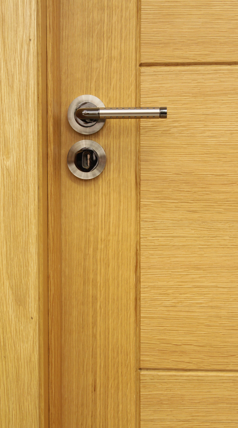 Milan White Oak Door 40mm Internal Doors