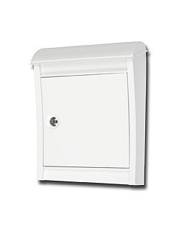 Orion white mail box