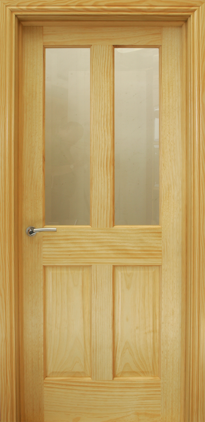 Oxford Pre Glazed Radiata Pine Door 40mm Internal