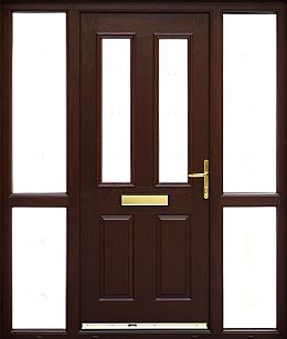 GRP Oxford (woodgrain) | External Front Doors | GRP/Composite