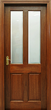 Oxford Pre-Glazed Mahogany Door (40mm)