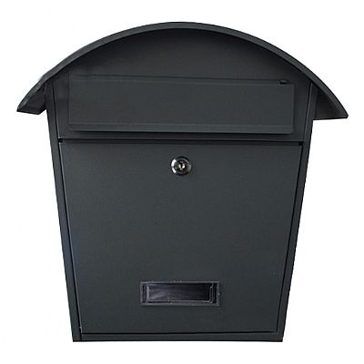 Cottage mailbox black