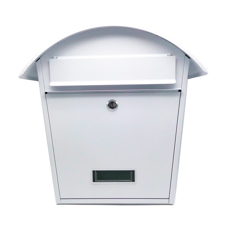 Cottage mailbox white