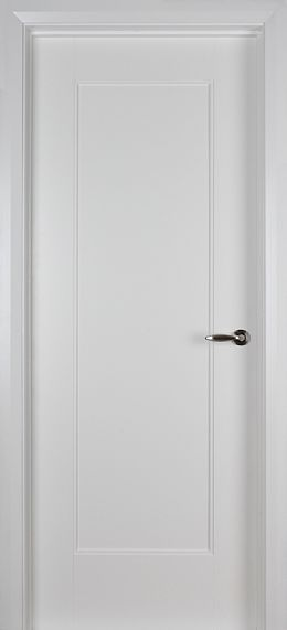 Shaker 1 Panel White Primed Door (40mm)