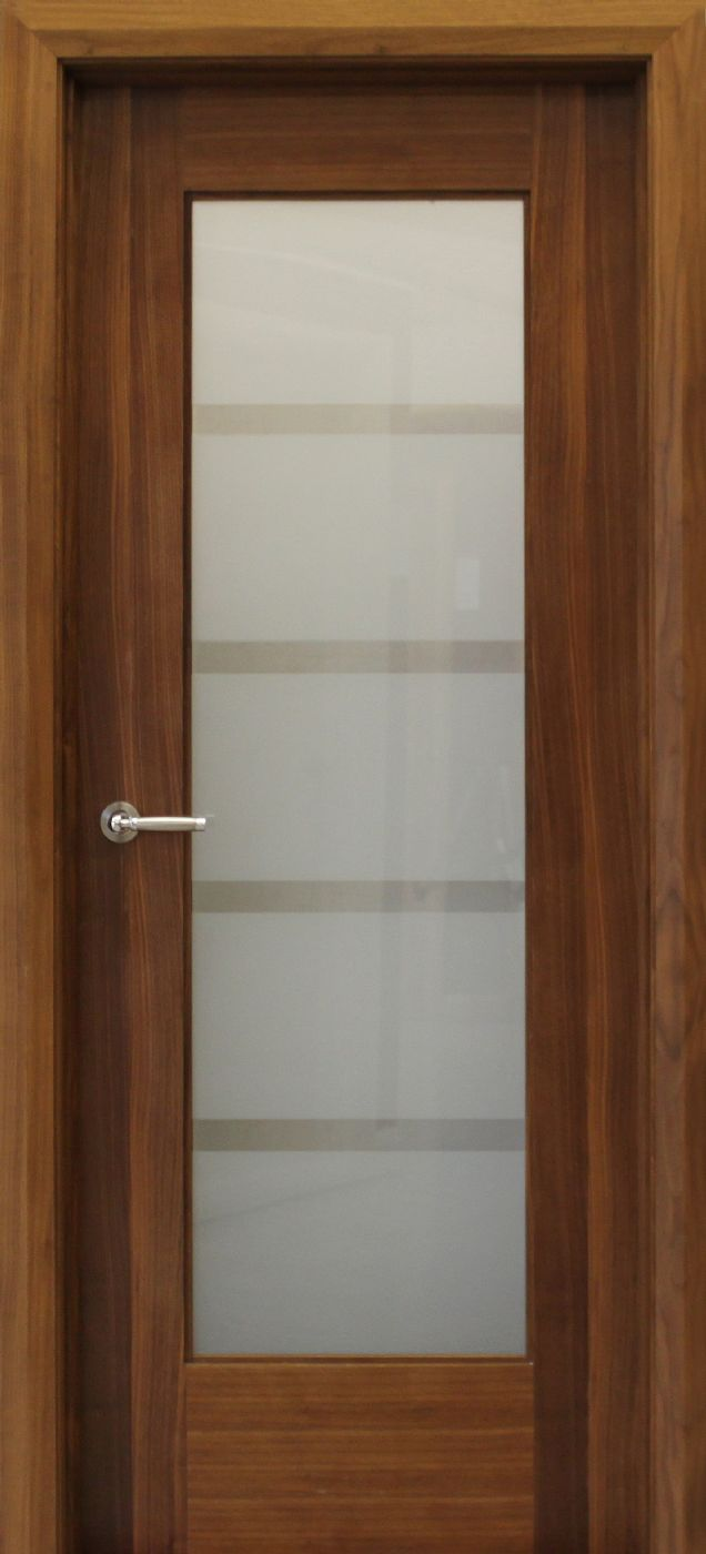 Shaker 1lite Vision Glass 40mm Internal Doors Walnut