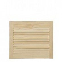 Radiata Pine Louvre Doors (Height 24 / 610mm)