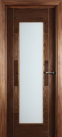 Monza Unglazed Walnut Door (40mm)