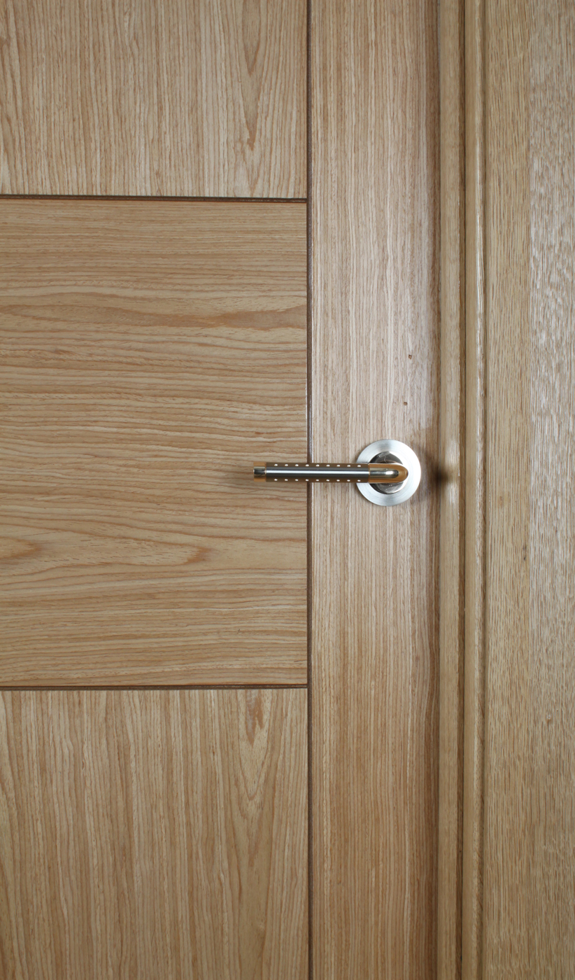 Monza White Oak Door 40mm Internal Doors Oak Doors