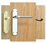 backplate door handles
