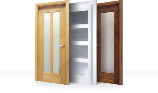 white internal doors glazed doors - Interior Doors