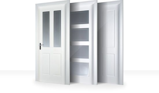 Beau White Internal Doors