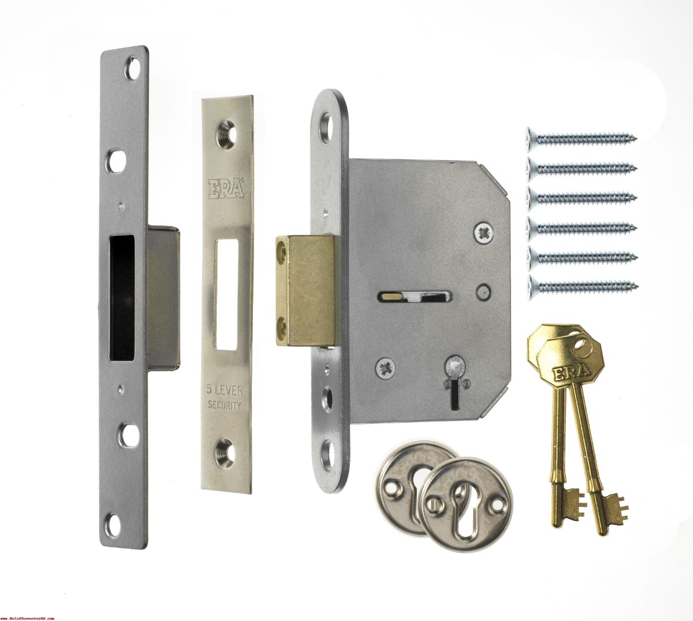 Era Deadlock Door Handles External Door Furniture