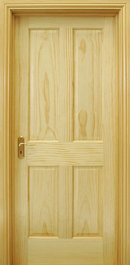 4 Panel Radiata Pine Door (40mm)
