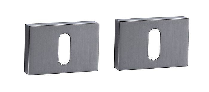 E34 Rectangular Escutcheon Set MSB (pair)