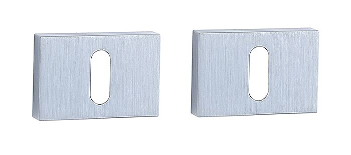 E34 Rectangular Escutcheon Set MSC (pair)