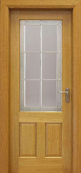 Grafton Pre-Glazed White Oak Door (40mm)