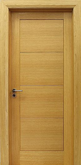 Milan White Oak Door (40mm)