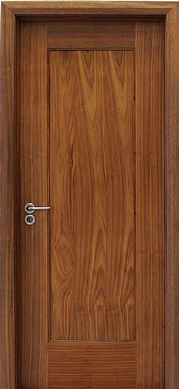 Shaker 1 Panel Walnut Door (40mm)