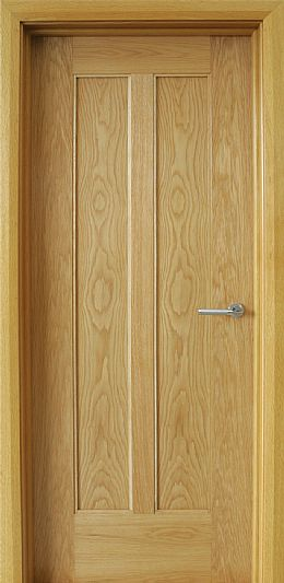 Shaker 2 Panel White Oak Door (40mm)