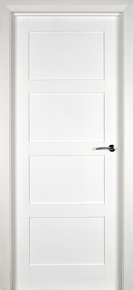 White doors solid pre primed white internal doors from the door internal doors white internal doors trade spec contemporary 4 panel 40mm planetlyrics Images