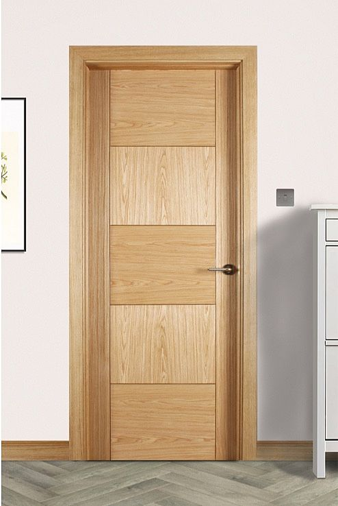 Monza White Oak Door (40mm)