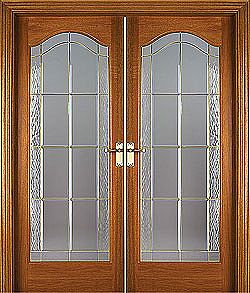 Knightsbridge Pre-Glazed (40mm) shown as double doors