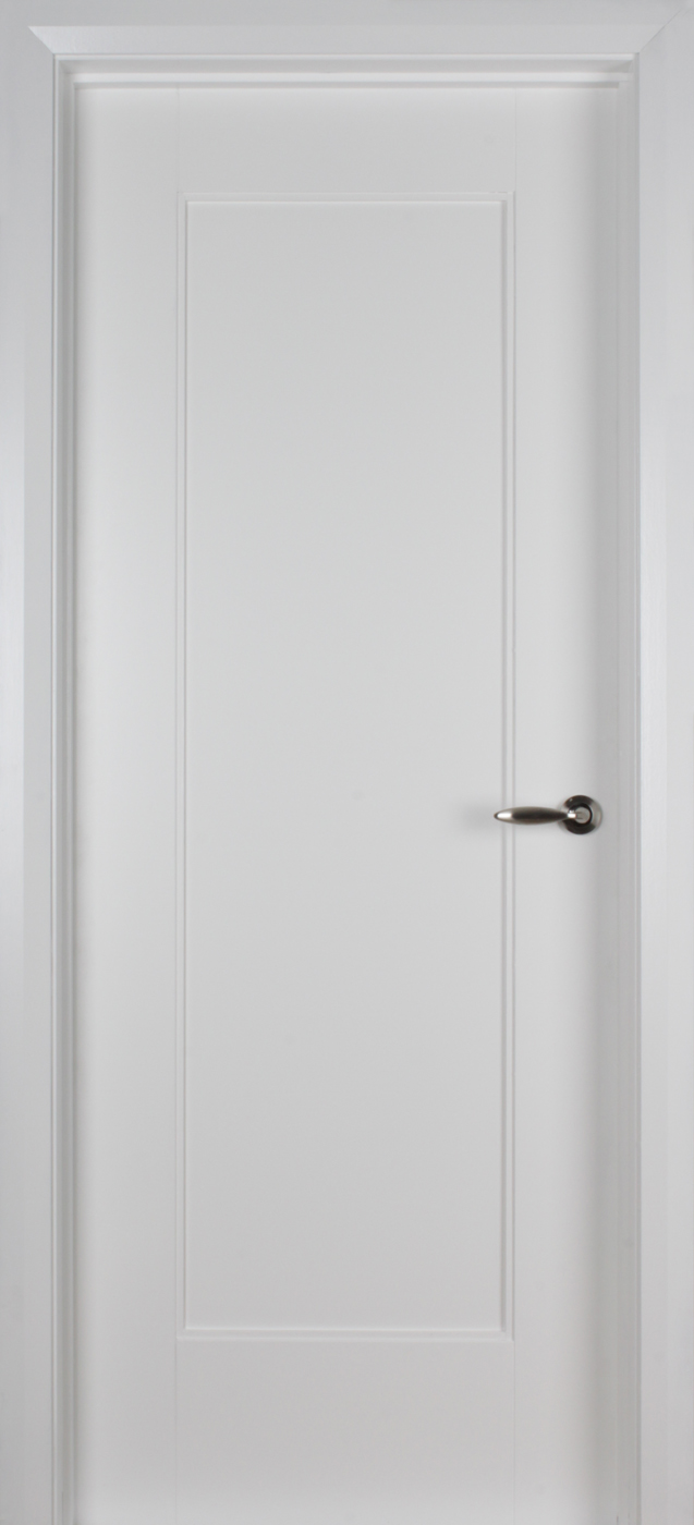 Shaker 1 Panel White Primed Door 40mm Internal Doors White Internal Doors