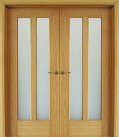 Shaker 2 Lite (40mm) shown as double doors